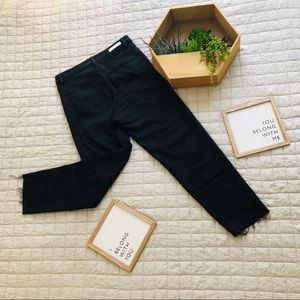 Cello Black high waisted mom jeans, size 11.